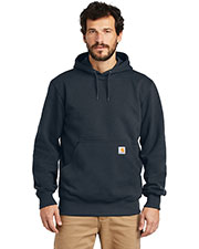 Custom Embroidered Carhartt CT100615 Men 13 oz Rain Defender Paxton Heavyweight Hooded Sweatshirt at GotApparel