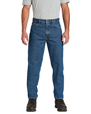 Custom Embroidered Carhartt CTB17 Men 15 oz Relaxed-Fit Tapered-Leg Jean at GotApparel