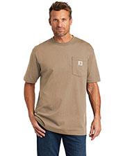 Custom Embroidered Carhartt CTTK87 Men 6.75 oz Tall Workwear Pocket Short Sleeve T-Shirt at GotApparel