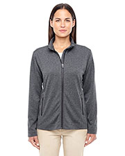 Ladies' Fairfield Herringbone Full-Zip Jacket at GotApparel
