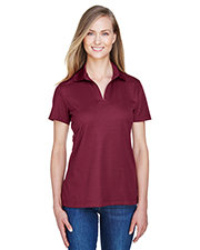 Devon & Jones DG20W CrownLux Performance Ladies 5.1 oz Plaited Polo at GotApparel