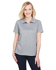 Devon & Jones DG22W CrownLux Performance Ladies 4.9 oz Address Melange Polo at GotApparel