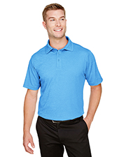 Devon & Jones DG22 CrownLux Performance Men 4.9 oz Address Melange Polo at GotApparel