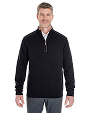 Men's Manchester Fully-Fashioned Quarter-Zip Sweater at GotApparel