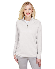 Devon & Jones DG480W CrownLux Performance Ladies 8.7 oz. Quarter-Zip at GotApparel