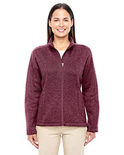 Ladies' Bristol Full-Zip Sweater Fleece Jacket at GotApparel
