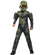 Halloween Costumes DG89968K Boys   Master Chief Classic 7-8 at GotApparel