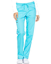 Dickies Medical DK106P Women Mid Rise Straight Leg Drawstring Pant at GotApparel