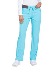 Dickies Medical DK112P Women Mid Rise Straight Leg Drawstring Pant at GotApparel