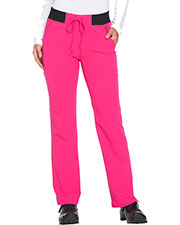 Dickies Medical DK112 Women Mid Rise Straight Leg Drawstring Pant at GotApparel