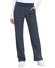 Dickies Medical DK115P Women Mid Rise Moderate Flare Leg Pull-on Pant at GotApparel