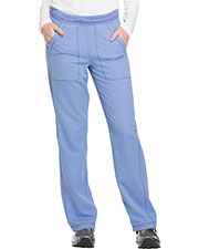 Dickies Medical DK120 Women Mid Rise Straight Leg Pull-on Pant at GotApparel