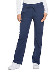 Dickies Medical DK130T Women Mid Rise Straight Leg Drawstring Pant at GotApparel