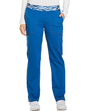 Dickies Medical DK140T Women Mid Rise Tapered Leg Pull-on Pant at GotApparel