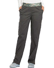 Dickies Medical DK140 Women Mid Rise Tapered Leg Pull-on Pant at GotApparel