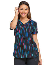 Dickies Medical DK731 Women V-Neck Top at GotApparel