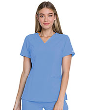 Dickies Medical DK735 Women V-Neck Top at GotApparel