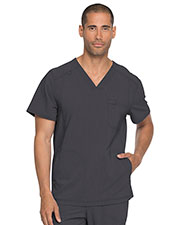 Dickies Medical DK750 Men s V-Neck Top at GotApparel