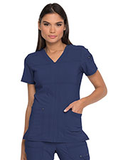 Dickies Medical DK760 Women V-Neck Top at GotApparel