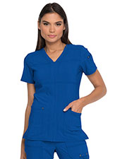 Dickies Medical DK760 Women V-Neck Top at GotApparel