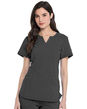 Dickies Medical DK785 Women Shaped V-Neck Top at GotApparel