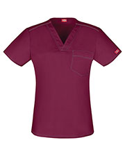 Dickies Medical DK801 Women V-Neck Top at GotApparel