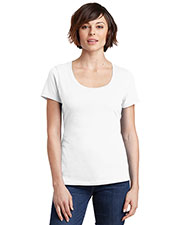 District Made DM106L Women's Perfect Weight Scoop Tee at GotApparel