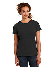 District Made DM108L Women Perfect Blend Crew Tee at GotApparel