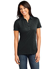 District Made DM450 Women  Slub Polo at GotApparel