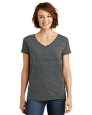 District Made DM465  ® Ladies Cosmic Relaxed V-Neck Tee. . at GotApparel