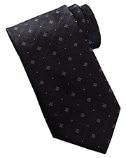 Edwards DT00 Men Dot And Diamond Pattern Tie at GotApparel