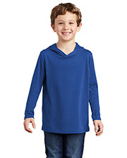 District DT139Y Boys Perfect Tri ® Long Sleeve Hoodie at GotApparel
