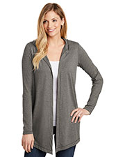 District   Women Perfect Tri   Hooded Cardigan. Dt156 at GotApparel