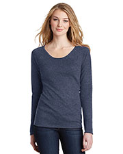 District DT218 Women's Long Sleeve Thermal at GotApparel