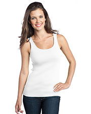 District DT235 Women 1x1 Rib Tank at GotApparel