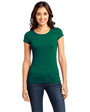 District DT2400 Women Gravel 50/50 Crew Tee at GotApparel