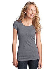 District DT270 Women Textured Girly Crew Tee at GotApparel