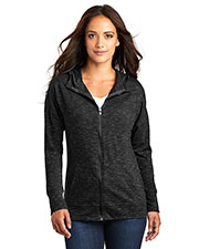 District DT665 Women Medal Full-Zip Hoodie at GotApparel