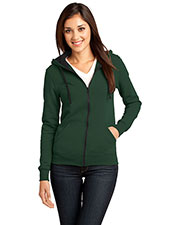 District DT801 Women The Concert Fleece™ Full Zip Hoodie at GotApparel