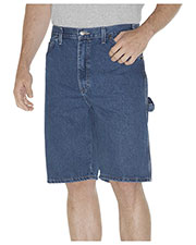 Dickies DX200 Unisex 11 Relaxed Fit Carpenter Denim Short at GotApparel