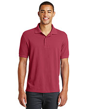 Custom Embroidered Eddie Bauer EB100 Men 6.5 oz Cotton Pique Polo at GotApparel
