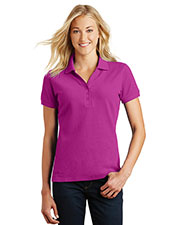 Custom Embroidered Eddie Bauer EB101 Ladies 6.5 oz Cotton Pique Polo at GotApparel
