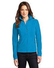 Custom Embroidered Eddie Bauer EB225 Ladies 8.8 oz Full-Zip Microfleece Jacket at GotApparel