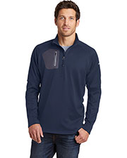Custom Embroidered Eddie Bauer EB234 Ladies 12.8 oz 1/2-Zip Performance Fleece at GotApparel
