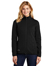 Custom Embroidered Eddie Bauer EB243 Ladies 15.7 oz Dash Full-Zip Fleece Jacket at GotApparel