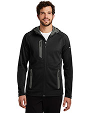Custom Embroidered Eddie Bauer EB244 Men 12.8 oz Sport Hooded Full-Zip Fleece Jacket at GotApparel