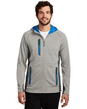 Custom Embroidered Eddie Bauer EB244 Men 12.8 oz Sport Hooded Full-Zip Fleece Jacket at GotApparel