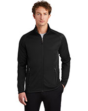 Custom Embroidered Eddie Bauer EB246 Men Smooth Fleece Base Layer Full-Zip at GotApparel