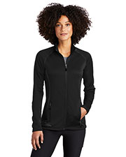 Custom Embroidered Eddie Bauer EB247 Women Smooth Fleece Base Layer Full-Zip at GotApparel