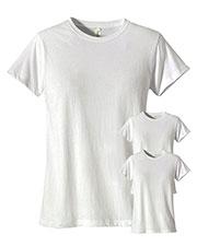 Custom Embroidered Econscious EC3000 Women 4.4 Oz. 100% Organic Cotton Classic Short-Sleeve T-Shirt 3-Pack at GotApparel